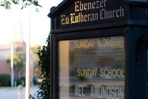 Ebenezer Sign