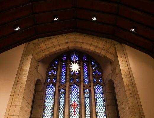Ebenezer Lutheran Church stained glass