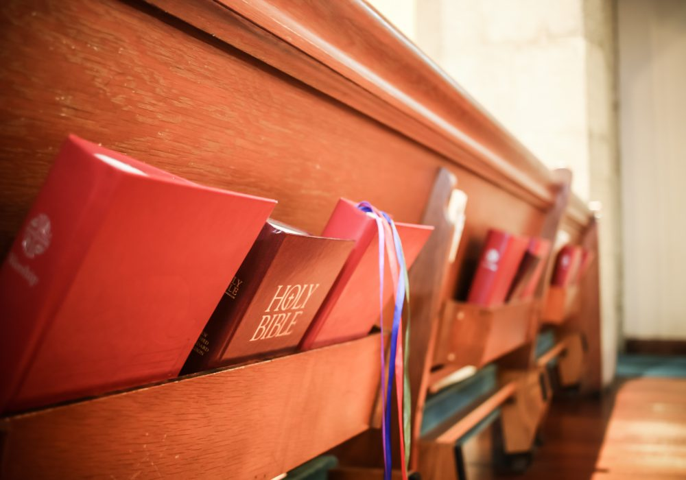 Hymnal and Bible