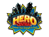 Hero Themed VBS 2017 Logo Ebenezer Lutheran Church Columbia, SC